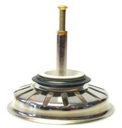 Blanco korfplug zeef gootsteenstop krepine tbv automatische lediging 1155075172