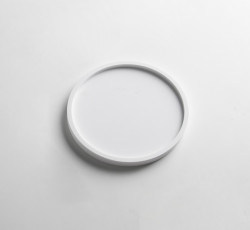 Solid-S dienblad Solid Surface rond mat wit diameter 15 x 1,2 cm 1208832692