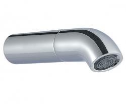 Zazzeri pop baduitloop 163mm mat zwart - chroom 1208859352
