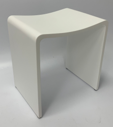 Solid-S badkamerkrukje Solid surface 40 x 30 x 42,5 cm wit mat 1208920889