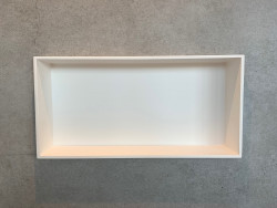 Solid-S nis mat wit solid surface 90x30x8cm