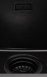 Reginox Korfplugset Pure Black met overloop tbv Texel en Amsterdam 1208953358