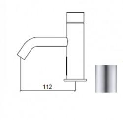 Waterevolution Flow elektronische wastafelkraan infrarood op 230volt RVS 1208953943